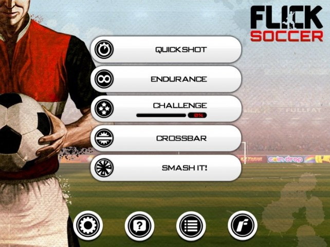 Flick Soccer для iPad и iPhone
