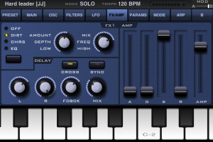 SunrizerXS synth by BeepStreet screenshot