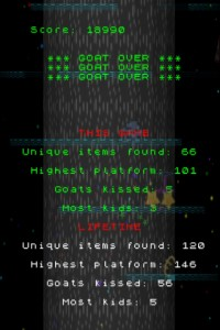 GoatUp by Llamasoft screenshot