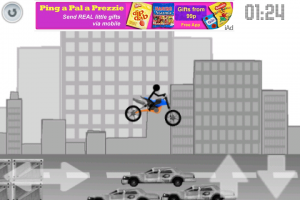 Doodle Moto Race by easygame screenshot