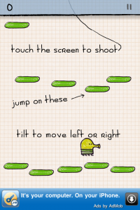 Doodle Jump FREE by Lima Sky screenshot