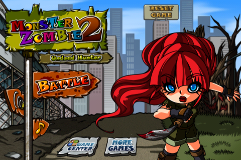Elude The Hordes Of Zombies And Take Them Out One By One In Monster Zombie 2: Undead Hunter