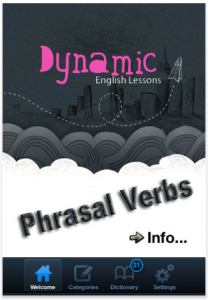 Dynamic English Lessons - Phrasal Verbs by Dynamic English Lessons screenshot