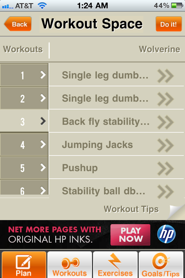 how to begin a workout routine