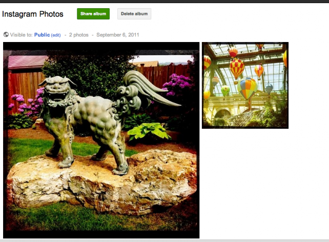 Google Plus Photo Importer - My Photos