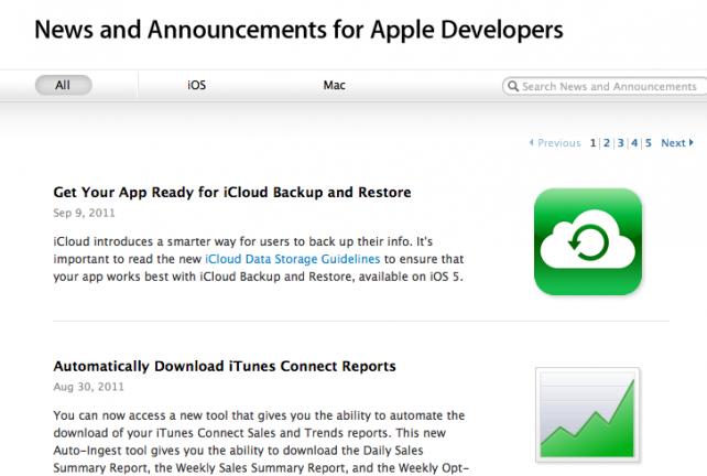 Apple vzkazuje vývojářům - Začněte používat iCloud