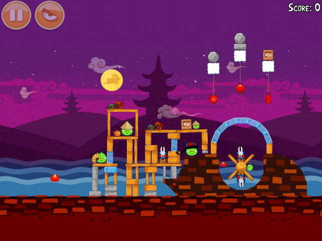 Angry Birds Seasons - Mooncake Festival