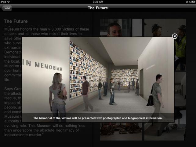 The 9/11 Memorial App