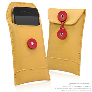 BoxWave Manila iPhone 4S Leather Envelope