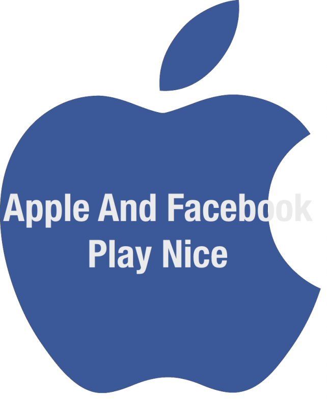 Apple and Facebook