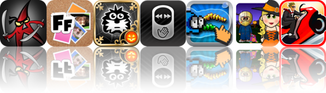 iOS Apps Gone Free: Alphabet Assassin, FingerFoto, Millie's Book Of Tricks And Treats, And More