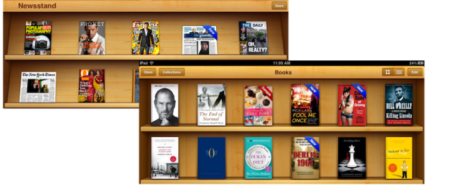 Newsstand And iBooks
