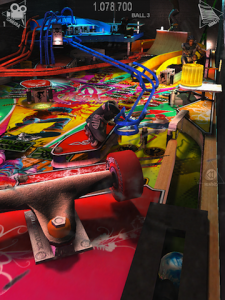 Real Pinball HD - X-Games by ASK Homework screenshot