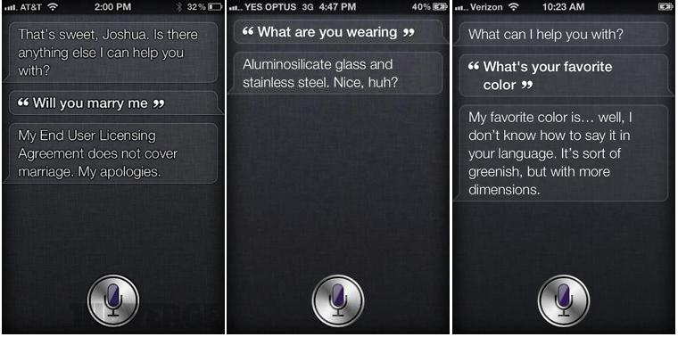 Siri Examples