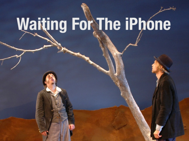 Waiting For The iPhone