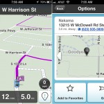 Waze GPS and Traffic version 3.0 (iPhone 4) - Navigation and Preview