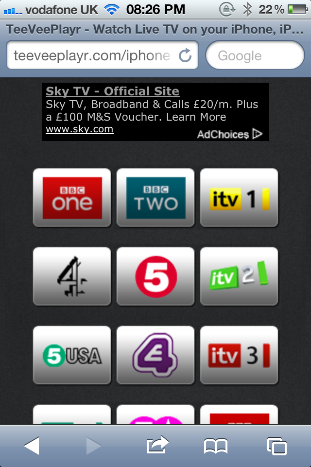 British Apple Fans Can Now Enjoy Live TV On An iOS Device For Free