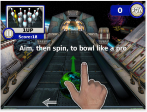 Gutterball: Golden Pin Bowling HD by Skunk Studios, Inc. screenshot
