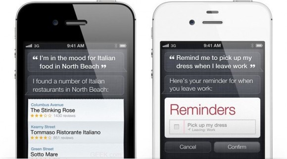 Apple Still Considering Siri For The iPhone (iphone 4 Vodaphone) 4 – Seeds Internal Build For Testing