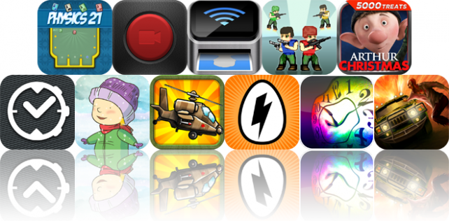 iOS Apps Gone Free: Physics 21 HD, Capture, ID Photo, And More