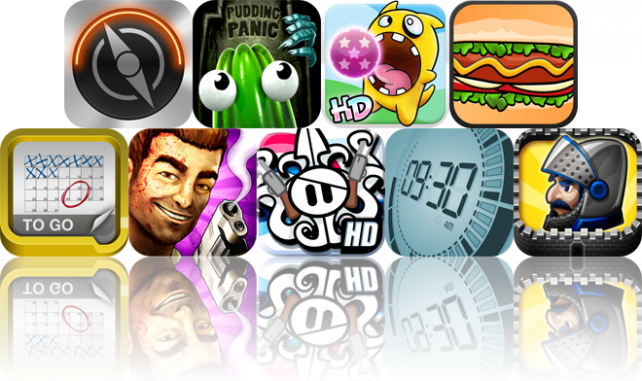 iOS Apps Gone Free: Portal, The Great Jitters: Pudding Panic