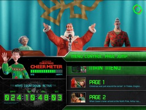 Arthur Christmas (iPad 2) - Menu