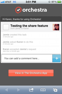 Orchestra To-do by Orchestra, Inc. screenshot