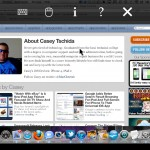 VNC Viewer version 2.0 (iPhone 4) - Mac OS X with Toolbar