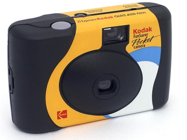 You remember disposable cameras, right?