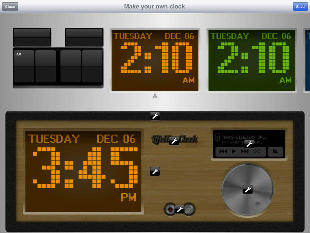 Alarm Clock Customization