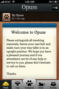 Opuss by Seamonster Ltd. screenshot