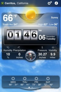 Weather Live by Apalon screenshot