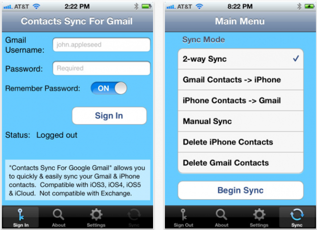Easily Sync Your iPhone Contacts With.