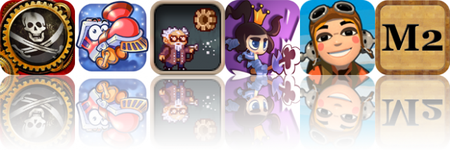 iOS Apps Gone Free: Crimson: Steam Pirates, Tiny Journey, Cavorite, And More