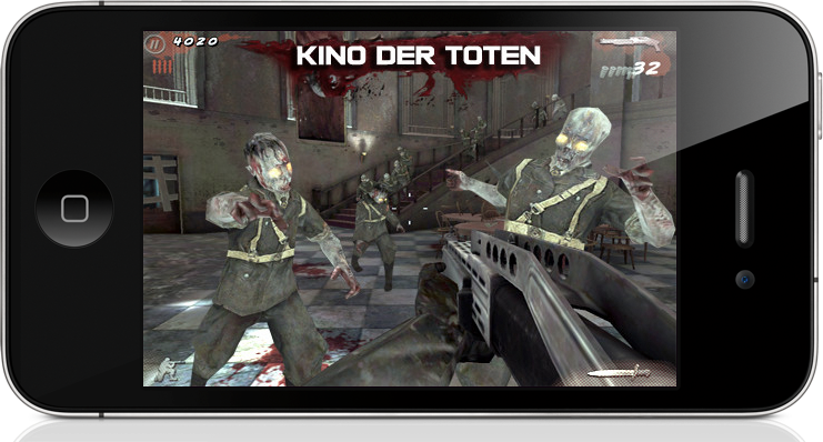 Call of Duty: Black Ops Zombies - On iPhone