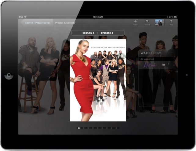 Crackle, Lifetime And PBS Join Fanhattan Lineup On iPad