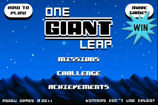 A Chance To Win One Giant Leap For iPhone