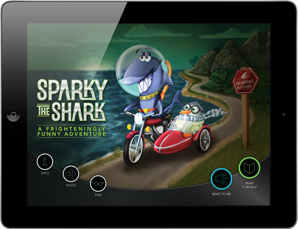 Sparky The Shark