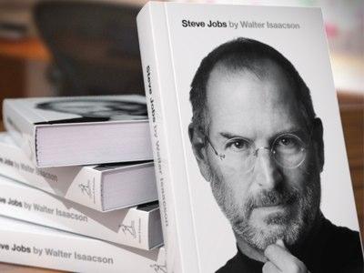 le livre de biographie de steve jobs