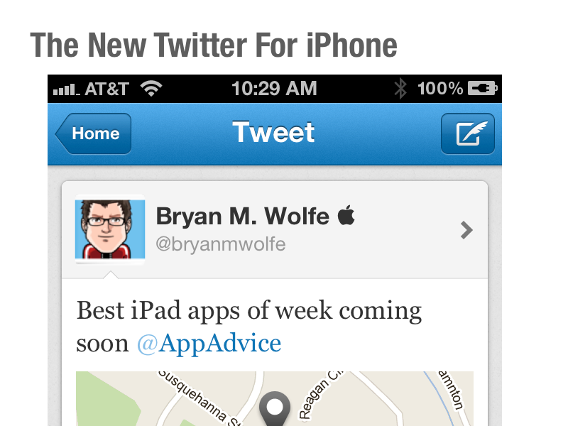 The New Twitter for iPhone