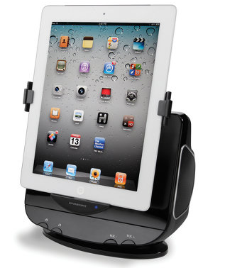The Powered Rotation iPad Stereo Dock