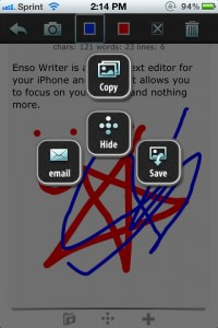 enso Writer by knowtilus screenshot