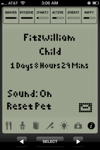 Hatchi by Portable Pixels screenshot