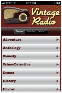 Vintage Radio™ by Orion Internet Services, LLC screenshot