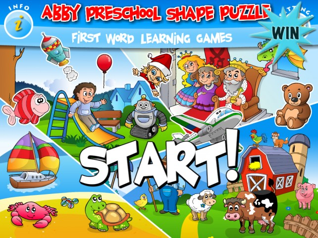 A Chance To Win Abby – Preschool Shape Puzzle For iPad