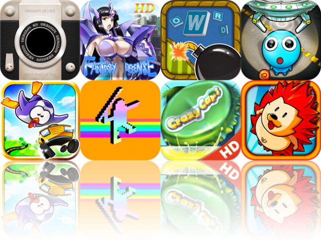 iOS Apps Gone Free: Kinotopic, Fantasy Defense HD, Word Boom, And More