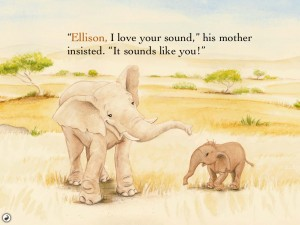 Ellison The Elephant (iPad 2) - Interactive