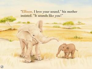Ellison The Elephant (iPad 2) - Interactive