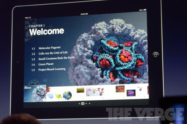Apple představil nové iBooks, iBooks Autor, iTunes U