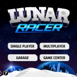Lunar Racer (iPad 2) - Main Menu
